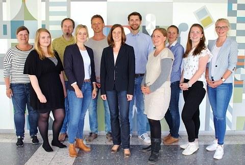 Das Bild zeigt das Team Abteilung Berufs- und Wirtschaftspädagogik